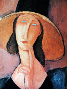 amedeo-modigliani-jeanne-hebuterne-in-a-large-hat